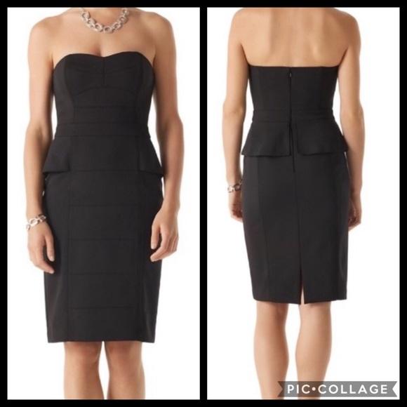 386c9edff94a0 White House Black Market Dresses   Whbm Structured Peplum Dress ...